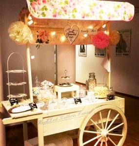 Candywagen Englische Rosen